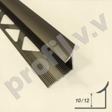 Алюминиевый профиль  для внутренних углов V.V.A-VZ10/12 ECO