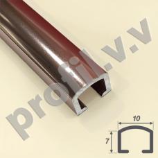 Алюминиевый профиль для плитки (бордюр) V.V.R-BD10 / V.V.A-BD10 ECO