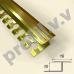 Алюминиевый профиль для плитки V.V.R-DG10 ECO