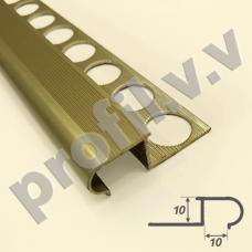 Алюминиевый профиль для плитки V.V.R-ZO10