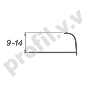 Алюминиевый профиль для плитки V.V.A-NVB9/10/12/14