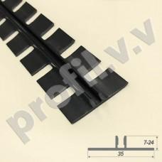 Пластиковая основа гнущаяся для Т-образного профиля V.V.A-OTP ECO