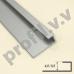 Алюминиевый профиль V.V.A-PST4,5 / 5,5 для стекол ECO