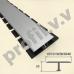 Алюминиевый профиль V.V.A-TG10/13/18/26/30/40 Т-образный ECO