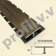 Алюминиевый профиль Т-образный ламинированный V.V.A-TGL13/18/26/30/40