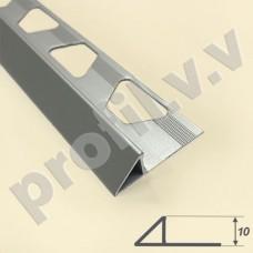 Алюминиевый профиль  V.V.A-TR10 с треугольным сечением, закладной ECO