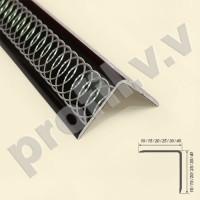 Алюминиевый уголок V.V.A-UNZ декоративный