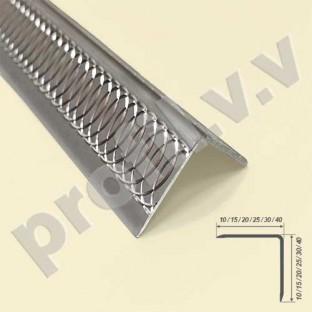 Алюминиевый уголок V.V.A-UNZ наружный
