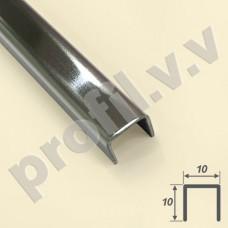 Бордюр из нержавеющей стали 10-20 мм V.V.A-N-BD квадратный