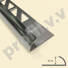 Профиль из нержавеющей стали V.V.A-N-N10/12 для плитки