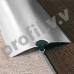 Порог из нержавеющей стали V.V.A-N-R30/40/50/60 ECO с отверстиями