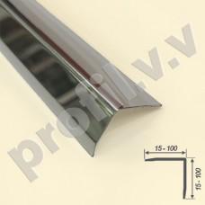 Профиль угловой из нержавеющей стали V.V.A-N-UNZ15x15