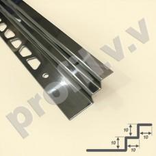 Внутренний угол из нержавеющей стали V.V.A-N-UZW8/10/12/15 ECO закладной