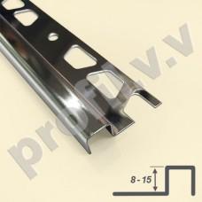 Профиль из нержавеющей стали V.V.A-N-KV8/10/12/15 квадратный