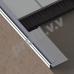 Профиль из нержавеющей стали V.V.A-N-NVB ECO полукруглый для плитки